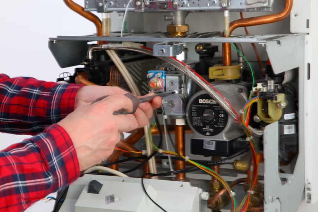Dépannage par Planète énergies d'une chaudière gaz à condensation sur la ville de Brindas