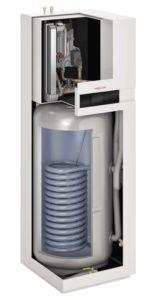 Installation par Planète Energies d'une pompe à chaleur air eau avec production d'eau chaude